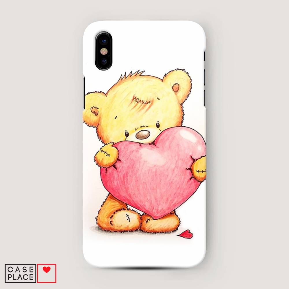 Картинки айфон с мишкой
