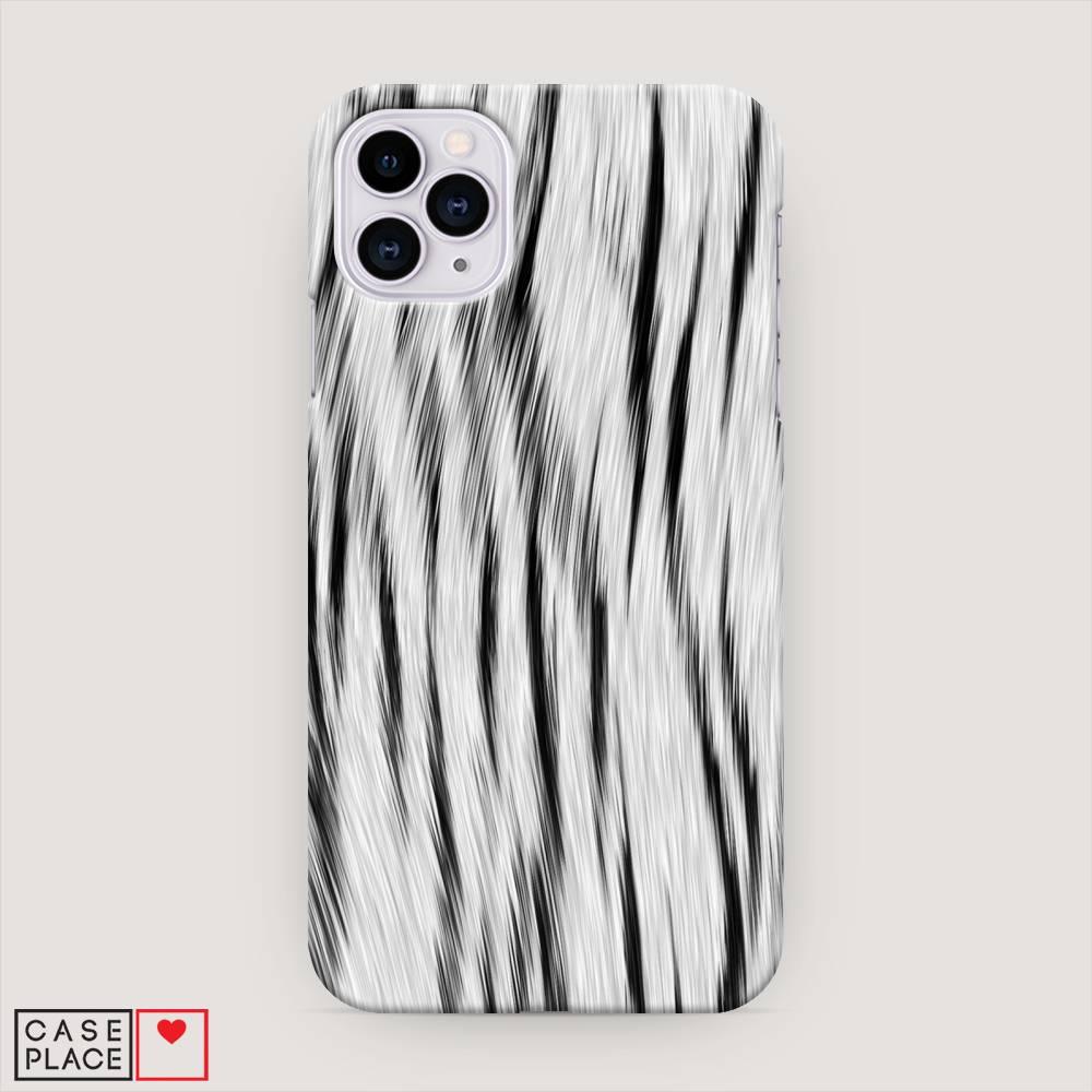 Принт снежный тигр для чехла на iPhone 11