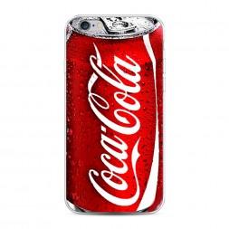 Силиконовый чехол Кока Кола на iPhone 6S