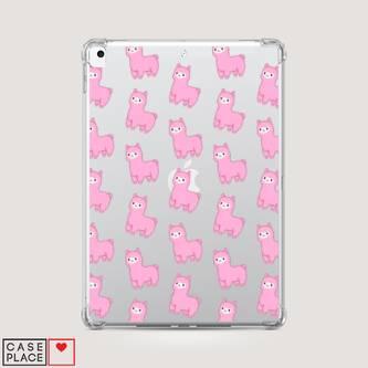 Чехол для iPad 8 10.2 (2020) Розовые ламы