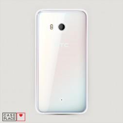 Пластиковый чехол без принта на HTC U11