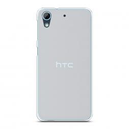 Силиконовый чехол без принта на HTC Desire 628