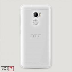 Силиконовый чехол без принта на HTC One X10
