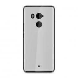 Силиконовый чехол без принта на HTC U11 Plus