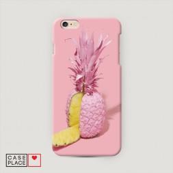 Пластиковый чехол Розовый ананас на iPhone 6/6S Plus
