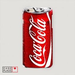 Пластиковый чехол Кока Кола на iPhone 6 Plus/iPhone 6S Plus