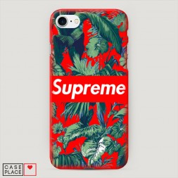 Пластиковый чехол Supreme background на iPhone 7