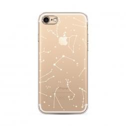 Силиконовый чехол Созвездия на iPhone 8