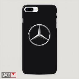 Пластиковый чехол Мерседес на iPhone 8 Plus