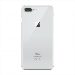 Силиконовый чехол без принта на iPhone 8 Plus