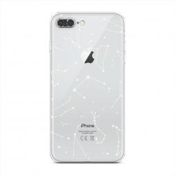 Силиконовый чехол Созвездия на iPhone 8 Plus