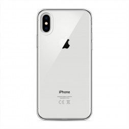 Силиконовый чехол без принта на iPhone X (10)