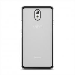 Силиконовый чехол без принта на Lenovo Vibe P1m