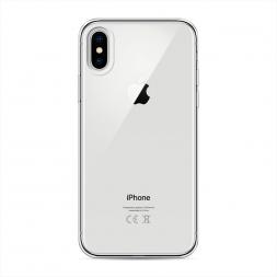 Силиконовый чехол без принта на iPhone XS (10S)