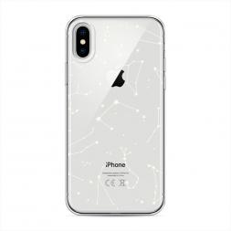 Силиконовый чехол Созвездия на iPhone XS (10S)