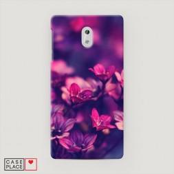 Пластиковый чехол Лиловые цветы на Nokia 3
