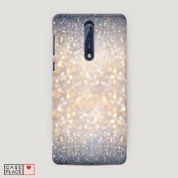 Пластиковый чехол Мерцание рисунок на Nokia 8