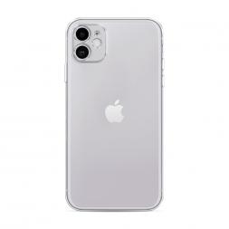 Силиконовый чехол без принта на iPhone 11