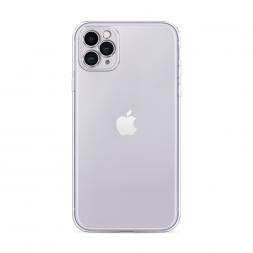 Силиконовый чехол без принта на iPhone 11 Pro Max