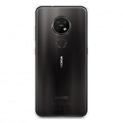 Силиконовый чехол без принта на Nokia 7.2