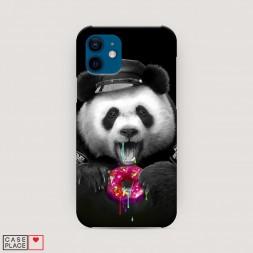 Пластиковый чехол Панда police