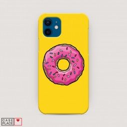 Пластиковый чехол Пончик для Гомера
