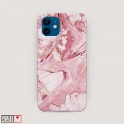 Пластиковый чехол Розовый кварц