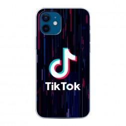 Силиконовый чехол TikTok glitch