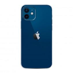 Силиконовый чехол без принта на iPhone 12