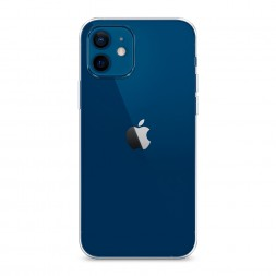 Силиконовый чехол без принта на iPhone 12 mini