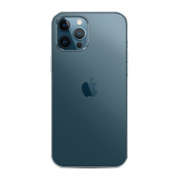 Силиконовый чехол без принта на iPhone 12 Pro Max