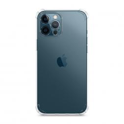 Противоударный силиконовый чехол Прозрачный на iPhone 12 Pro Max