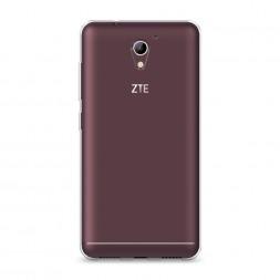 Силиконовый чехол без принта на ZTE Blade A510