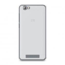Силиконовый чехол без принта на ZTE Blade A610