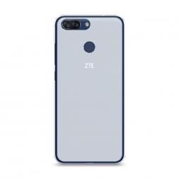 Силиконовый чехол без принта на ZTE Blade V9 Vita