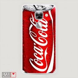 Силиконовый чехол Кока Кола на LeEco Le 2/2 pro