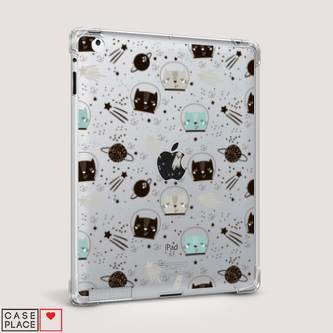 Чехол для iPad 2 Котики космонавты