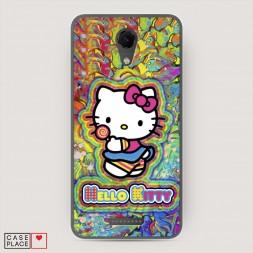Cиликоновый чехол Hello Kitty 4 на BQ 5044 Strike