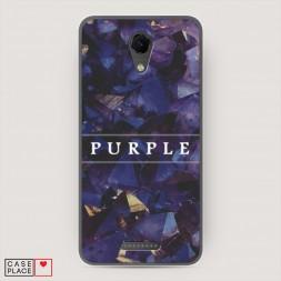 Cиликоновый чехол Purple цвет на BQ 5044 Strike