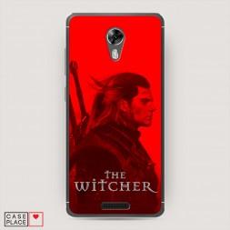 Силиконовый чехол Ведьмак постер на BQ 5201 Space