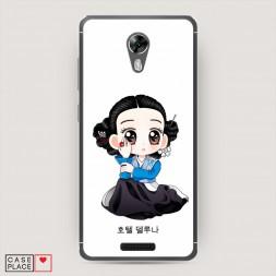 Силиконовый чехол Чжан Ман Воль аниме на BQ 5201 Space