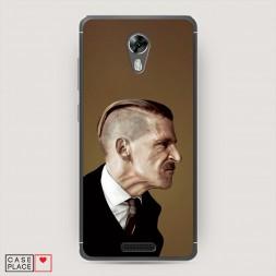 Силиконовый чехол Артур Шелби портрет на BQ 5201 Space