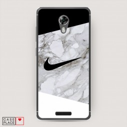 Силиконовый чехол Мраморный Nike на BQ 5201 Space