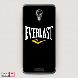 Силиконовый чехол Everlast logo на BQ 5201 Space
