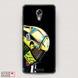 Силиконовый чехол Шлем Валентино Росси на BQ 5201 Space
