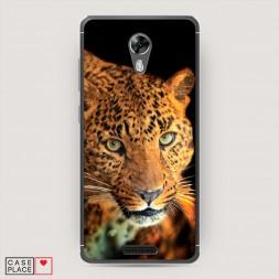 Силиконовый чехол Леопард на BQ 5201 Space
