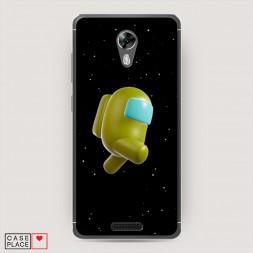 Силиконовый чехол Impostor yellow на BQ 5201 Space