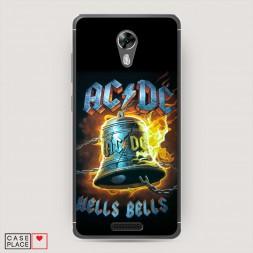 Силиконовый чехол Альбом Hells Bells на BQ 5201 Space