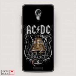 Силиконовый чехол Hells Bells альбом на BQ 5201 Space
