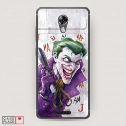 Cиликоновый чехол Рисованный Джокер на BQ 5201 Space
